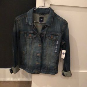 Gap new with tags denim jacket